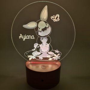 Lampe personnalisée – Lapin