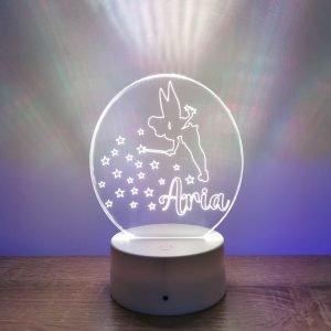 Lampe personnalisée – Fée